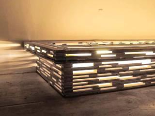 L17 Modular architecture for semi permanent art/event space Minimalistische Geschäftsräume & Stores von SEREIN Konzeptkunst & Mikroarchitektur Minimalistisch