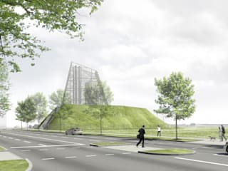Außenperspektive: Wettbewerb:   von Bohn Architekten GbR