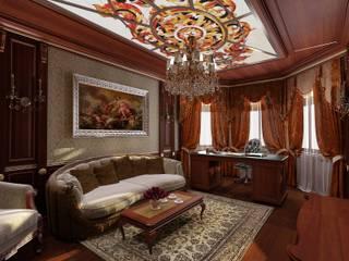 Студия дизайна Натали Хованской Classic style study/office