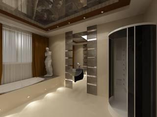 Eclectic style bathrooms by Студия дизайна Натали Хованской Eclectic