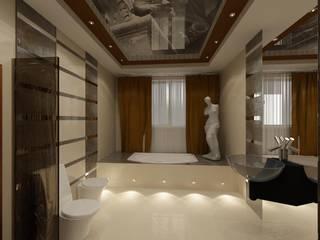 Студия дизайна Натали Хованской Eclectic style bathroom