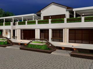 Eclectic style houses by Студия дизайна Натали Хованской Eclectic