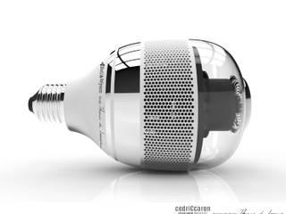 BW 1.1 : L'ampoule connectée, détecteur de fumée Couloir, entrée, escaliers originaux par CedriCcaron Éclectique