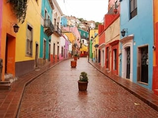 Pueblo Mágico - México: Casas de estilo  por Ingrid_Homify