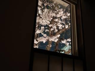 大きな土間空間のある家(横須賀の家): 大島功市建築研究所 一級建築士事務所が手掛けた庭です。
