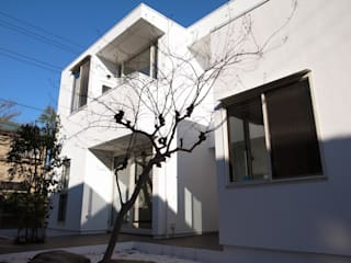 大きな土間空間のある家(横須賀の家): 大島功市建築研究所 一級建築士事務所が手掛けた家です。