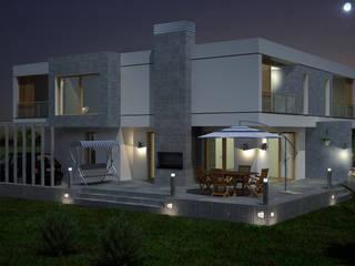 Minimalist house by TARKAN OKTAY MİMARLIK Minimalist