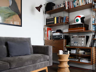 Eclectic style media room by Escapefromsofa Eclectic