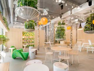 't Park:  Kantoorgebouwen door CUBE architecten