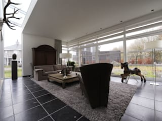 Woning S Roosendaal: moderne Woonkamer door BB architecten