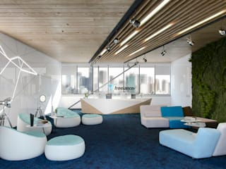 Office, Sydney by ARCHIplus 미니멀