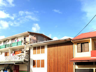 7BIS - Réhabilitation d'une maison individuelle Maisons tropicales par ARA Architecture Aménagement Tropical