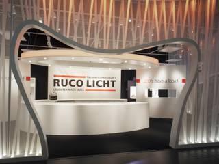 Messe / Messestand Ruco Licht:  Messe Design von MatthiasFranz.Innenarchitekten GmbH