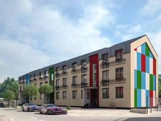 Casas minimalistas de ARCHIplus Minimalista