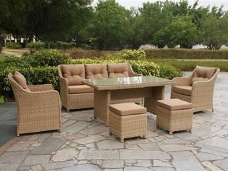 Mix Masalı Oturma Takımı Kumbahçe Bahçe Mobilyaları Akdeniz