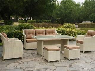 Mix Masalı Oturma Takımı Kumbahçe Bahçe Mobilyaları Tropikal