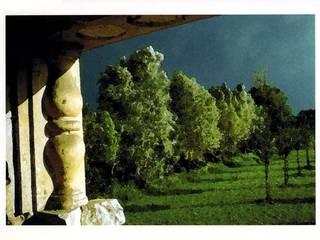 """vista dalla """"Loggia"""" / view from """"Loggia"""":  in stile  di Renato Michieli"""