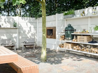 NewLook Brasschaat Keukens Giardino rurale