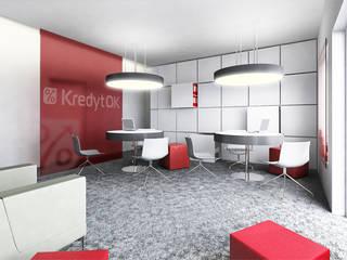 Bangunan Kantor Modern Oleh Za murami za dachami Modern