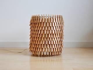 Lampe des pinces à linge par Crea-re Studio Minimaliste