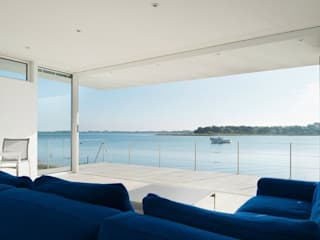 View from the lounge : modern Living room by Heat Mat Limited