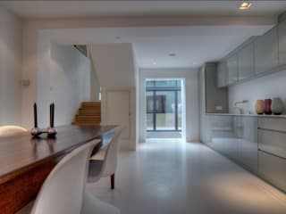 Marylebone Family House Minimalist kitchen by Peter Bell Architects Minimalist