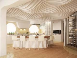 Cocinas de estilo  por EXA4 AEC Soft & Services