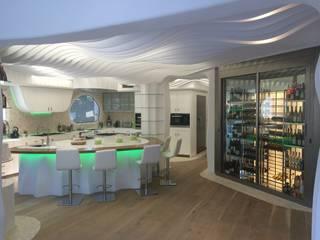 EXA4 AEC Soft & Services Modern kitchen