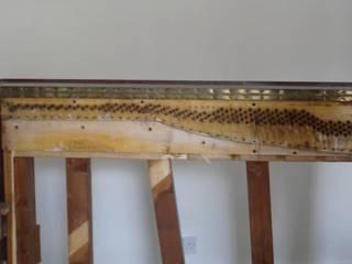 Upright pianino converted to a minibar woodstylelondon