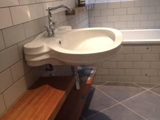 Bathroom floating shelves , woodstylelondon BathroomShelves