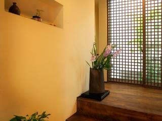 愛媛県松山市の家: Y.Architectural Designが手掛けた壁です。