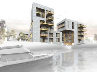 Casas modernas de Osterwold°Schmidt EXP!ANDER Architekten Moderno