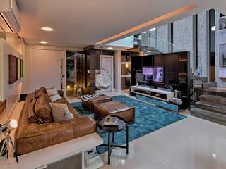 Living: Salas de estar  por Espaço do Traço arquitetura,