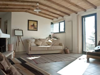 Rumah oleh ARCHolic, Rustic