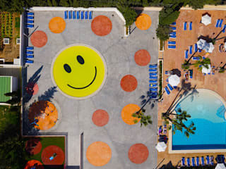 Smile Pool and Playground A2arquitectos Piscinas de estilo moderno