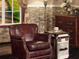 Classic Leather Armchair for Men: classic  by Locus Habitat,Classic