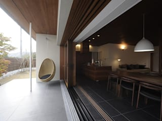 Modern terrace by 深山知子一級建築士事務所・アトリエレトノ Modern