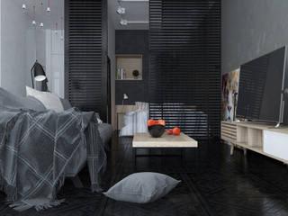 Industriale Wohnzimmer von Tatiana Shishkina Industrial
