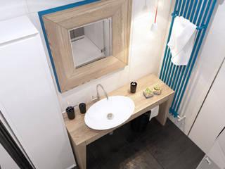 Tatiana Shishkina Mediterranean style bathrooms