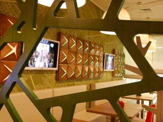 Кафе ОРИГАМИ Кухня в стиле модерн от Fineobjects Модерн