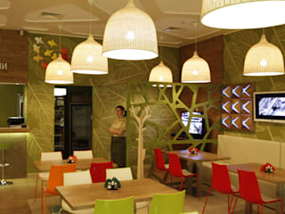 Кафе ОРИГАМИ:  в современный. Автор – Fineobjects, Модерн