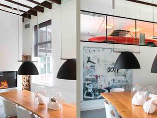 Schelpstraat Den Haag:  Keuken door Architectenbureau Filip Mens, Modern