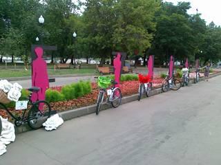 Велоэкспозиция журнала COLLEZIONI Сад в стиле модерн от Fineobjects Модерн