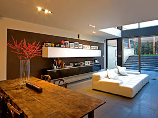 Horbury Crescent, Notting Hill Minimalist living room by Hale Brown Architects Ltd Minimalist