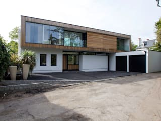 Coach House Lane, Wimbledon Modern houses by Hale Brown Architects Ltd Modern