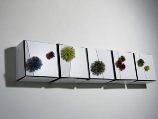 베고니아 화분: Salvia Garden의 현대 ,모던