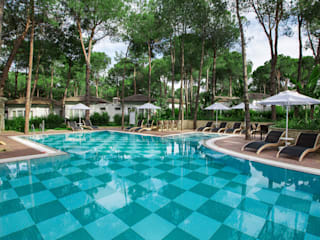 Nirvana Lagoon Villas Suites & Spa Hard&Softscape Project Akdeniz Bahçe Nota Tasarım Peyzaj Mimarlığı Ofisi Akdeniz
