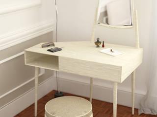 mobile toilette INNOVATEDESIGN® s.a.s. di Eleonora Raiteri Camera da letto moderna