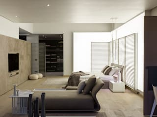 House Sar Modern style bedroom by Nico Van Der Meulen Architects Modern