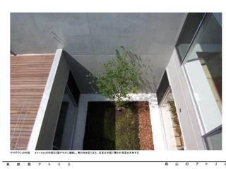 烏山のアトリエ モダンな庭 の 泉建築アトリエ(izumi architects) モダン